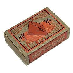 画像1: 知恵の輪マッチボックス・パズル The Pyramid