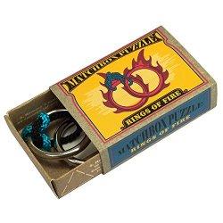 画像1: 知恵の輪 マッチボックス・パズル Rings of Fire